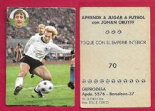 West Germany Karl-Heinz Rummenigge Bayern Munich 70